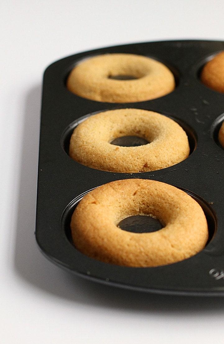 Vegan Maple Bacon Doughnuts