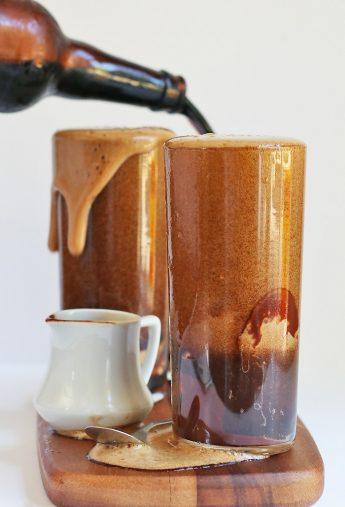 Vegan Coffee Stout Float