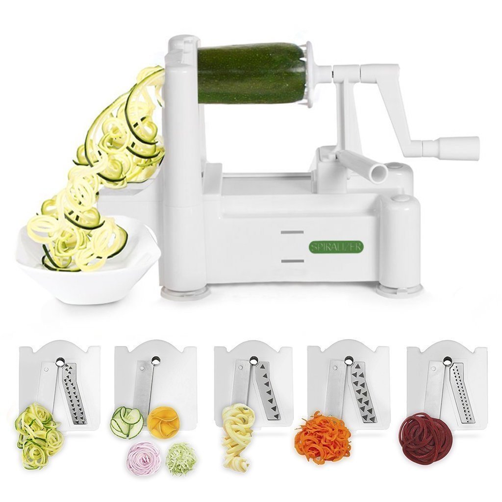 White spiralizer from Amazon