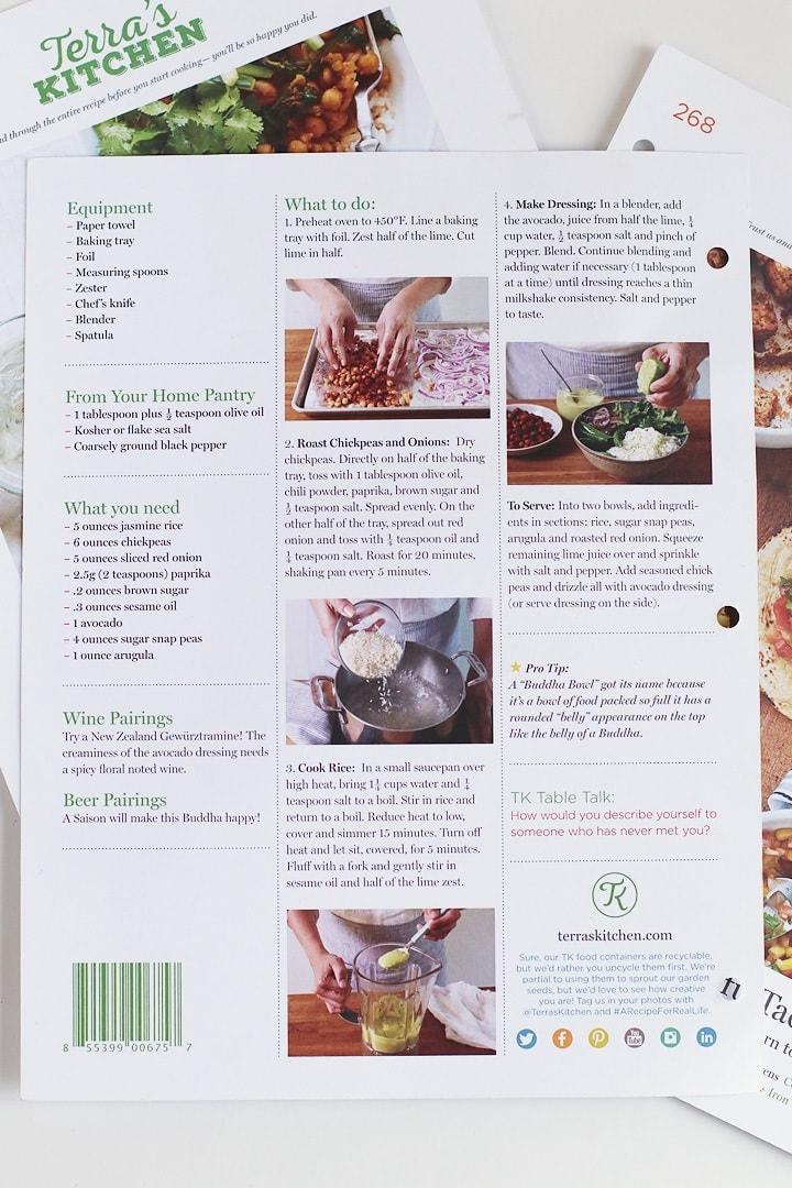 Terra's Kitchen Review