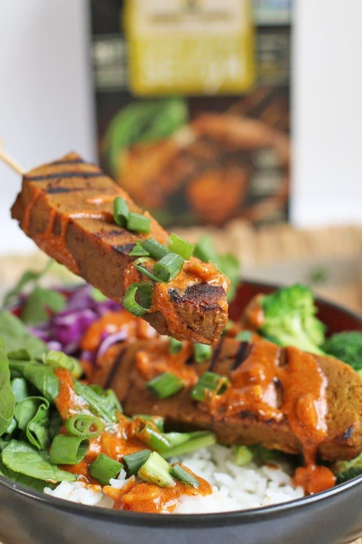 Vegan Curry Satay Buddha Bowl