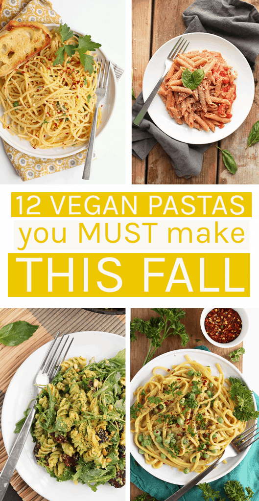 12 Easy Vegan Pasta Dishes