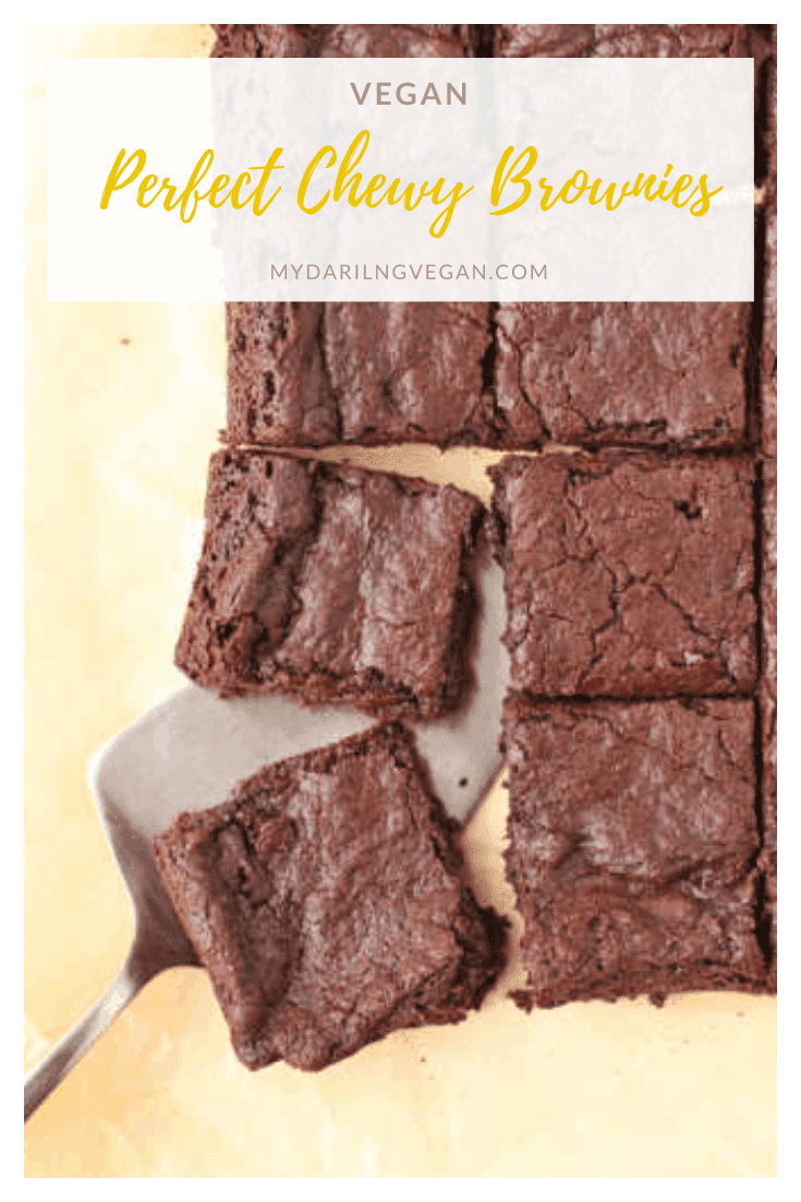 These fool-proof easy vegan brownies are unbelievablyrich and fudgy on the inside with a beautifully cracked topped and a delightful bite for the perfect sweet treat everyone can enjoy.