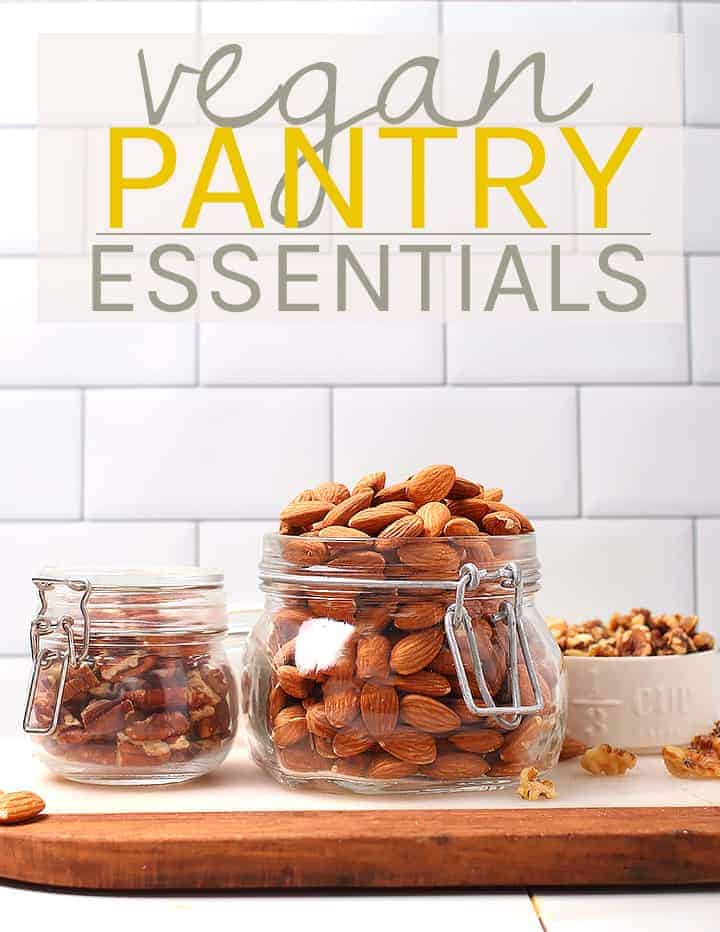 Vegan pantry essentials for Survival Food List