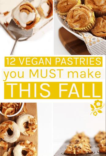 12 Vegan Pastry Recipes