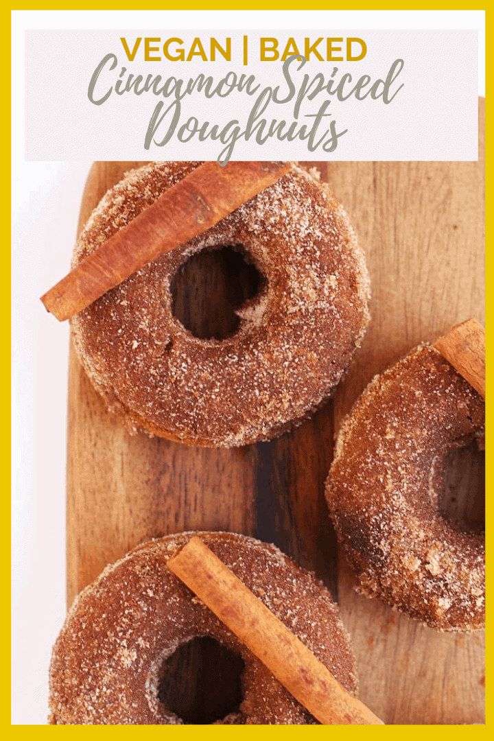 Start your morning with these delicious and tender vegan Cinnamon Doughnuts. They are bursting with flavors of cinnamon and black tea for the perfect morning pastry.