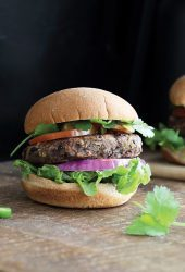Easiest Black Bean Burgers