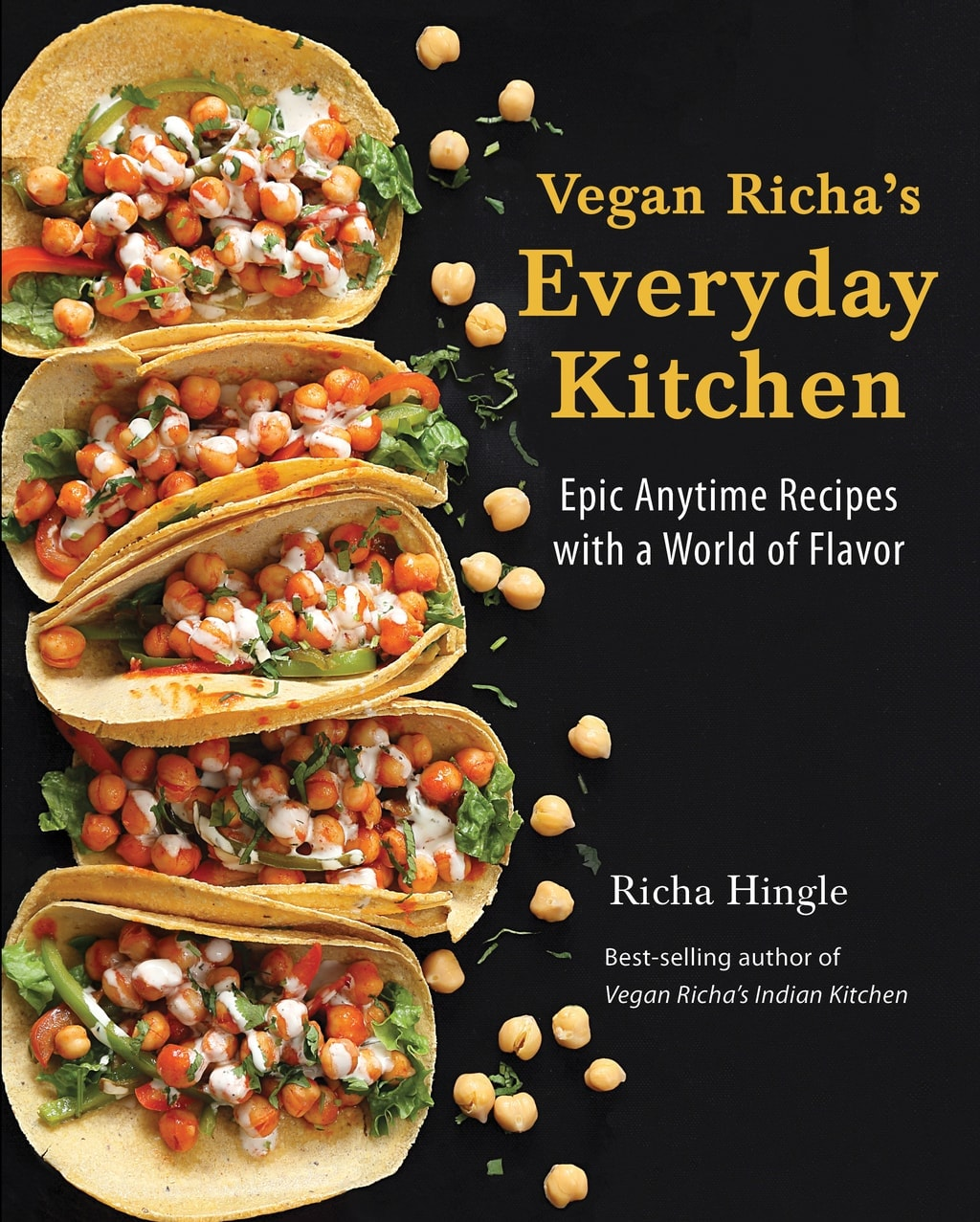 Cover from Vegan Richa's Everyday Kitchen