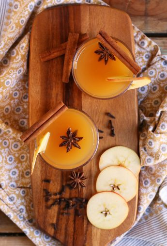Orange Bourbon Apple Cider