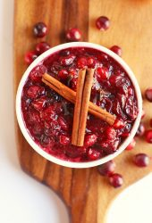 Cinnamon Orange Cranberry Sauce