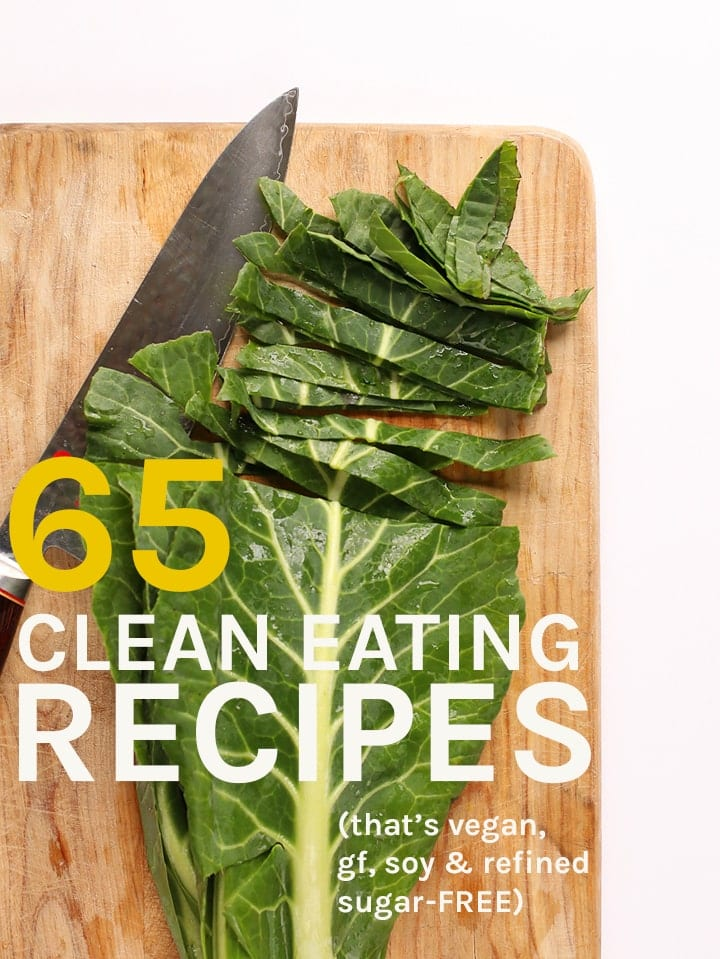 What better way to kick of the New Year with cleansing the body and mind? 65 recipes for your vegan and gluten-free 30 Day Cleanse. #vegan #vegetarian #glutenfree #healthy #cleaneating #recipes