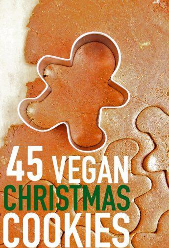45 Vegan Christmas Cookies