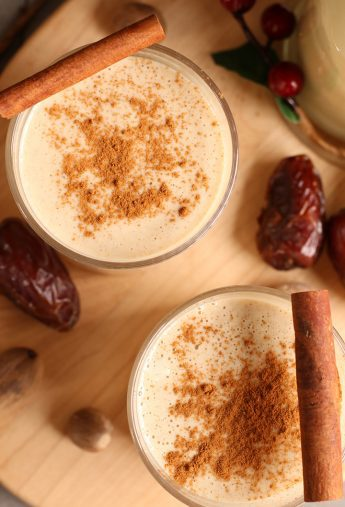 Homemade Vegan Eggnog