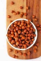 Bacon Flavored Chickpeas