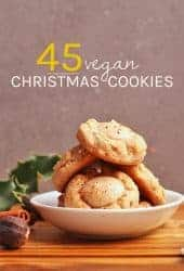 45 Vegan Christmas Cookies
