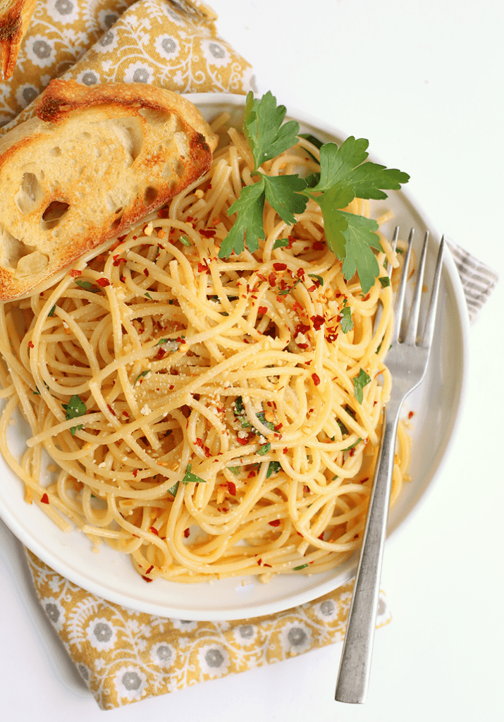 Spaghetti with Olive Oil