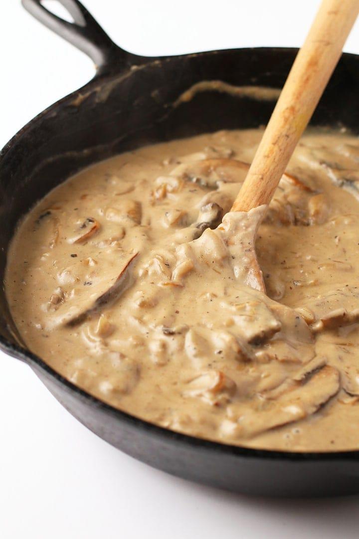 Mushroom Stroganoff Sauce