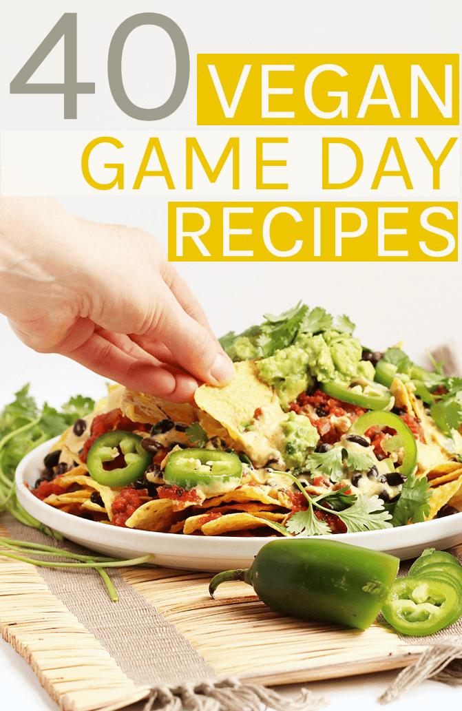 Vegan Super Bowl RecipesFrom finger foods to burgers to dessert, this 40 Vegan Super Bowl Recipes roundup has something for everyone to enjoy on game day.