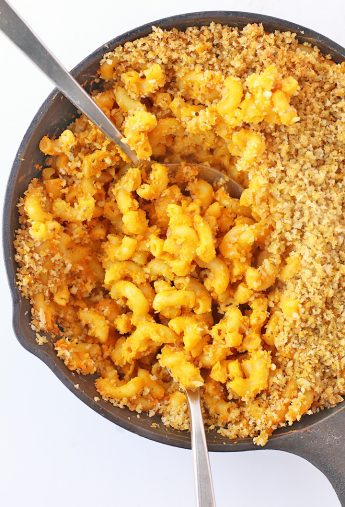 Vegan Baked Macaroni and Cheese