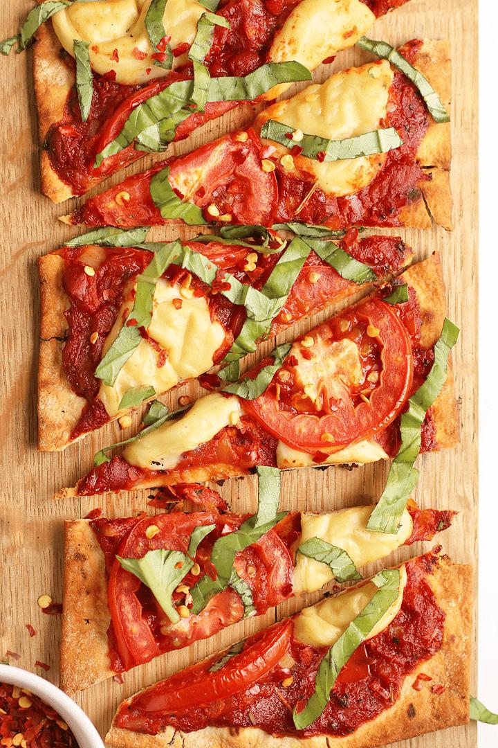 Vegan Pizza Margarita
