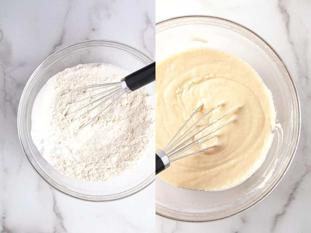 Batter for Vanilla Cupcakes