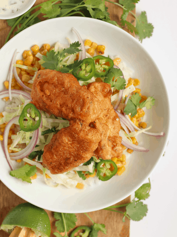 Vegan Fish Taco Bowl
