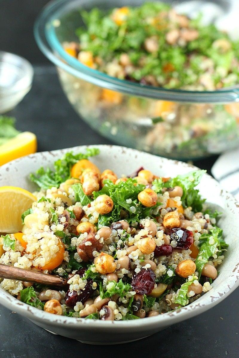 Black-eyed Pea Quinoa Salad