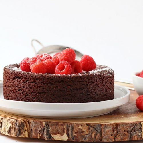 Vegan Flourless Chocolate Cake My Darling Vegan