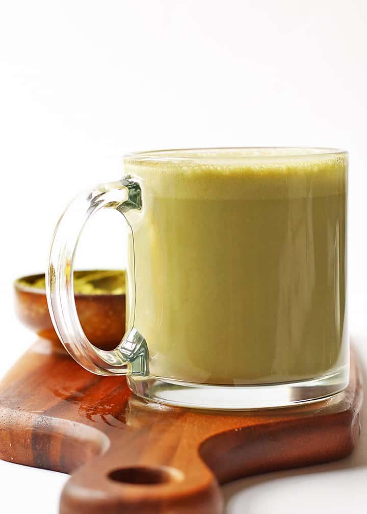 Homemade Matcha Latte