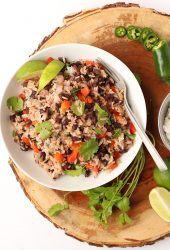 30-Minute Black Beans and Rice