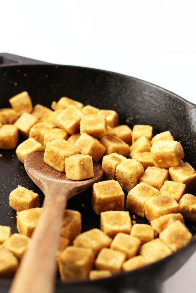 My Go-To Crispy Tofu