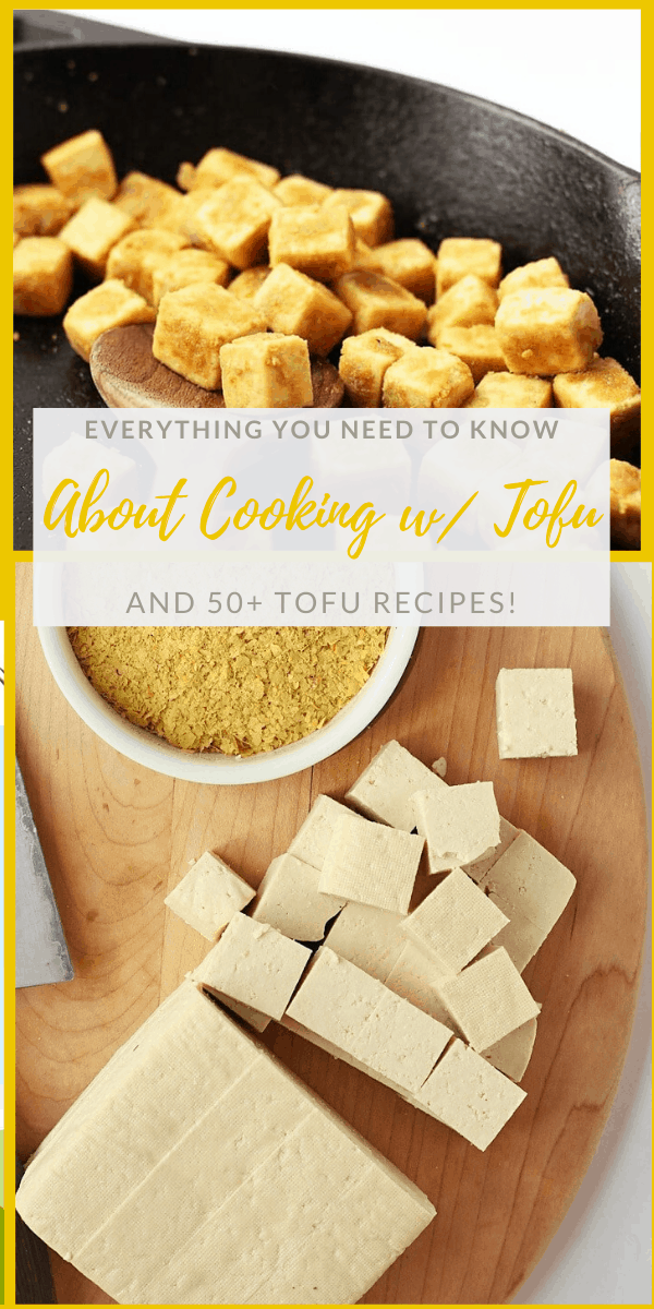 Learn how to make crispy tofu with this step-by-step guide for the perfectly crispy tofu to serve over salads or with your favorite vegetables and rice.