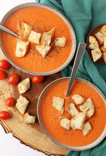 Creamy Vegan Tomato Soup (Soy-Free!)