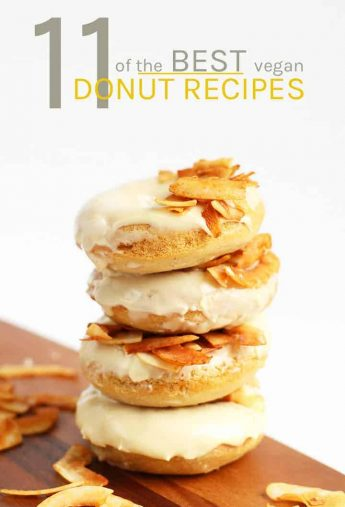 11 Incredible Vegan Donut Recipes