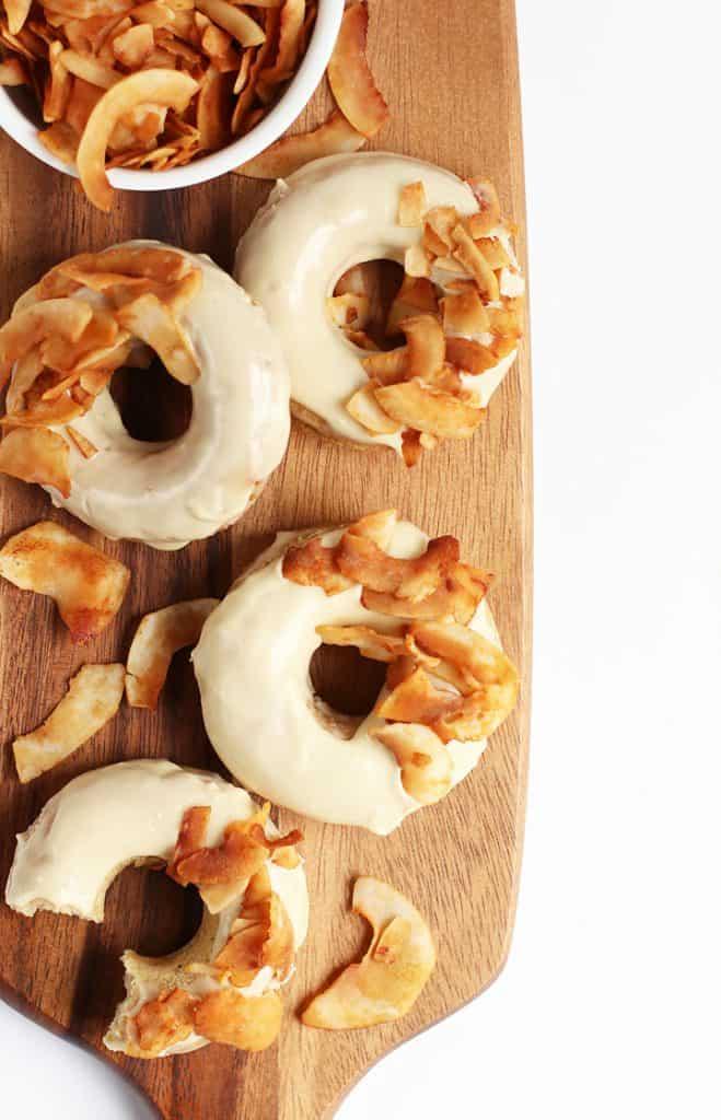 Maple Bacon Vegan Doughnuts