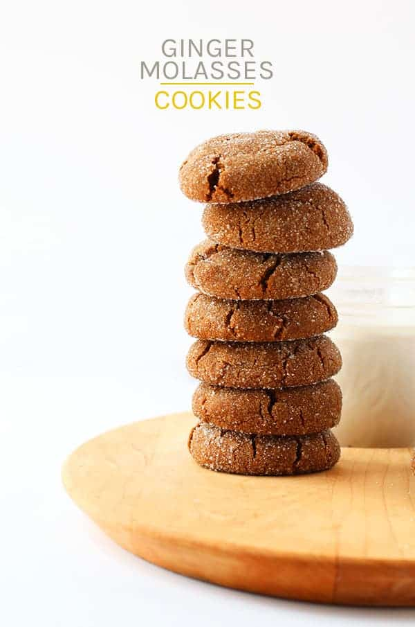 You won't be able to resist these sweet and spicy Ginger Molasses Cookies. Made in under 25 minutes (+ chill time) for the perfect fall treat. But beware, these cookies are highly addictive!