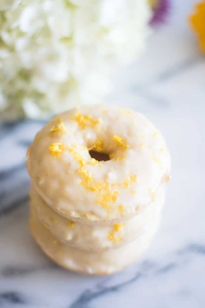 Lemon Drop Donuts