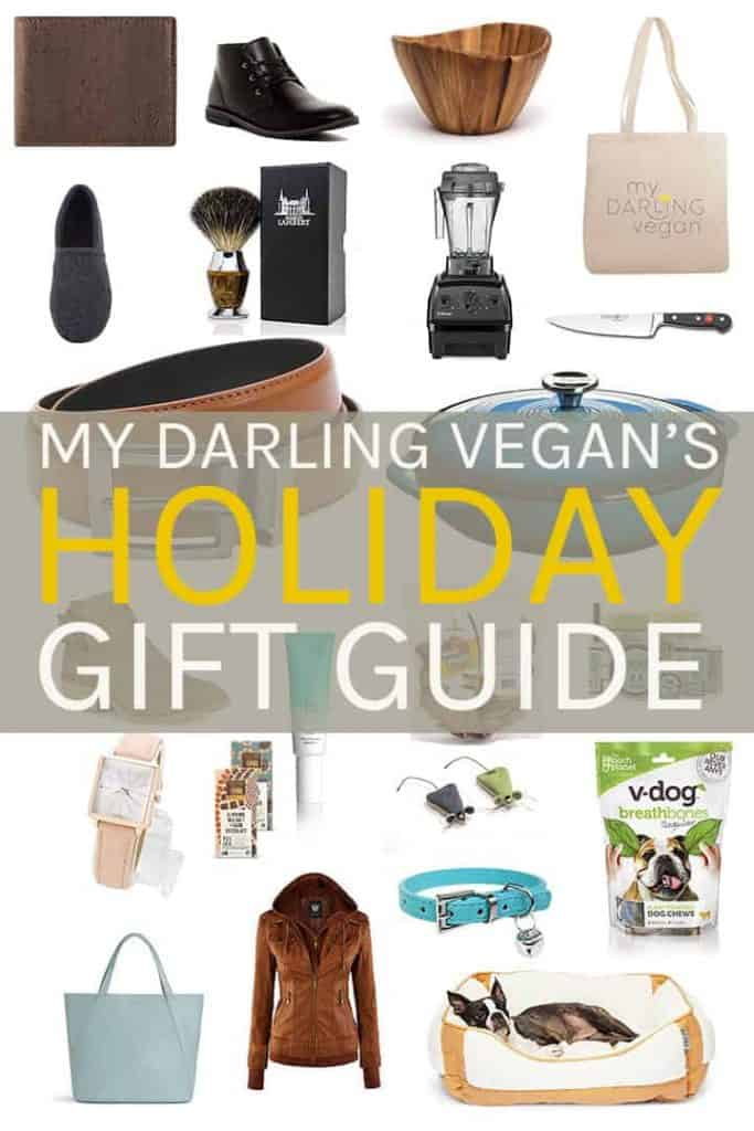 Get all your holiday shopping done here with My Darling Vegan's ULTIMATE Vegan Gift Guide for the holidays. With gifts for the chef, the home, him & her, and even the pets, you'll find something for everyone.