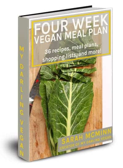 4 Week Vegan Meal Plan