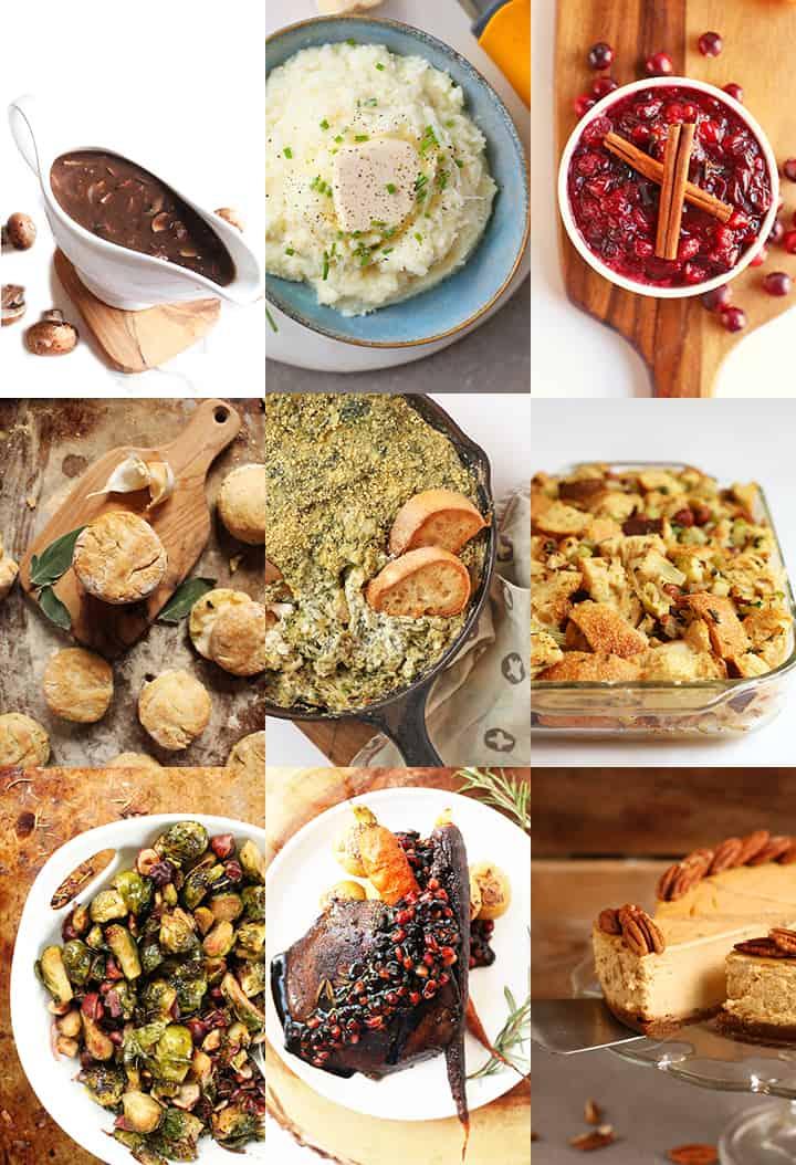 Thanksgiving Menu + Printable Shopping List
