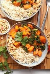 Thai Sweet Potato Curry with Kale