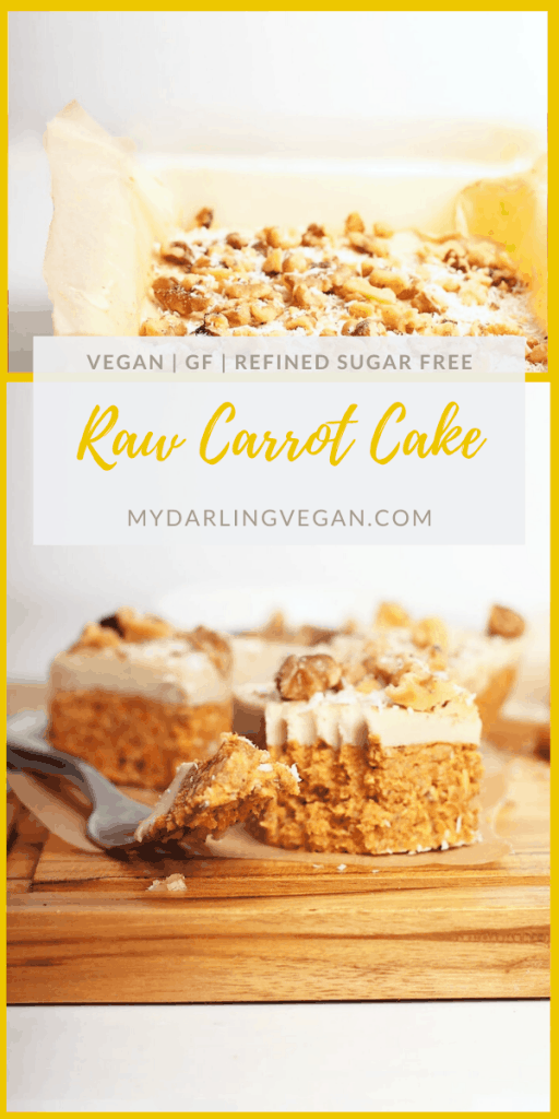 These raw carrot cake bites with cashew cream cheese frosting are vegan, gluten-free, and refined sugar-free for a wholesome and delicious dessert everyone can enjoy. A fan-favorite, I think you're going to love them.