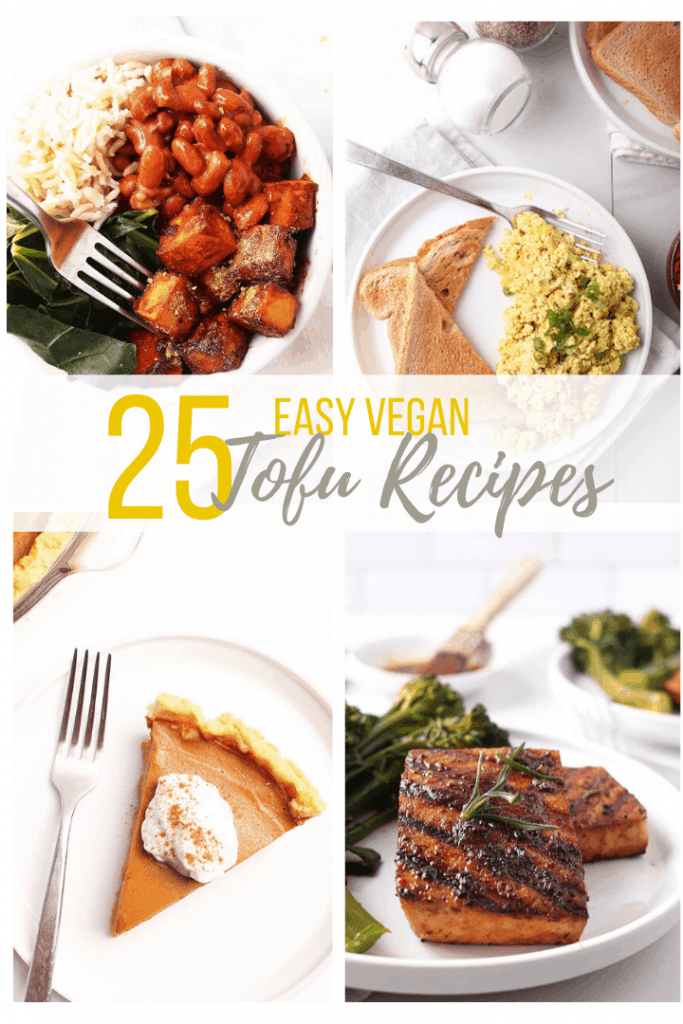 Not sure what you think about tofu? These 25 easy and DELICIOUS tofu recipes will make you fall in love. With so much variation in taste and texture, tofu can be used to make just about any meal a little bit better.