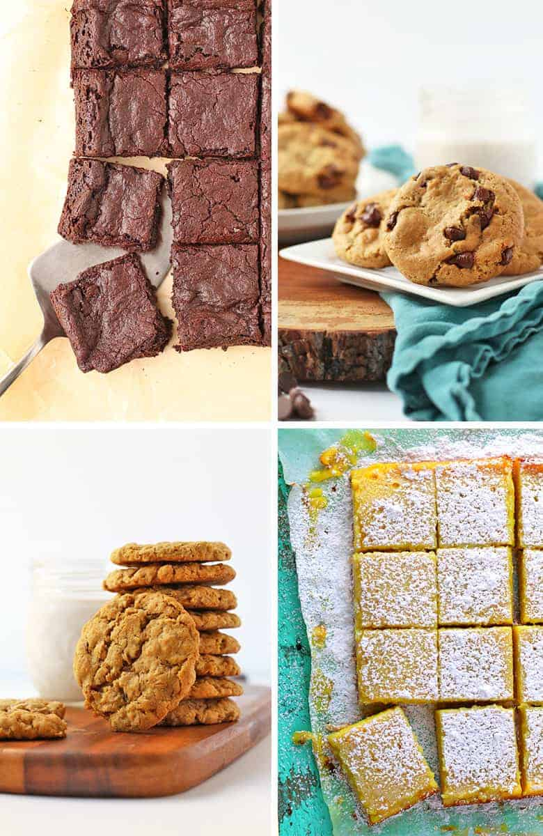 Vegan Cookies and Bar recipes