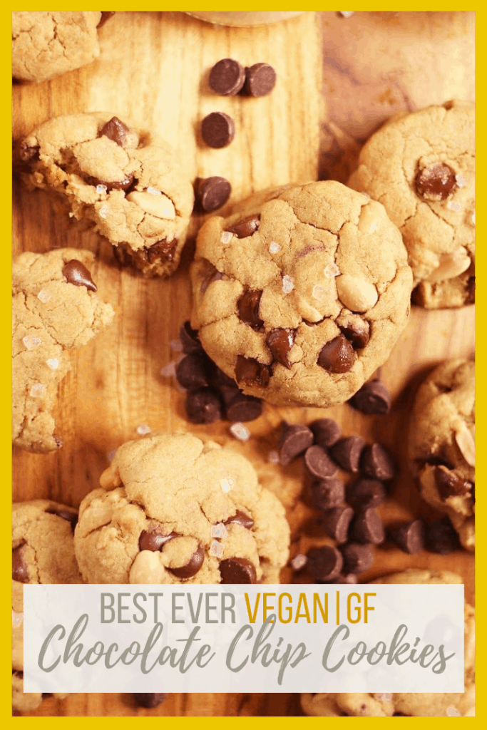 These Gluten-Free Chocolate Chip Cookies are made with quinoa flour for a wonderful gluten-free twist on an American classic cookie. Sprinkle with coarse sea salt for a delightfully sweet and salty treat.