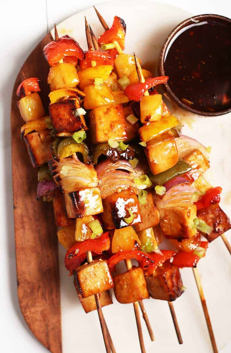 Teriyaki Tofu Skewers