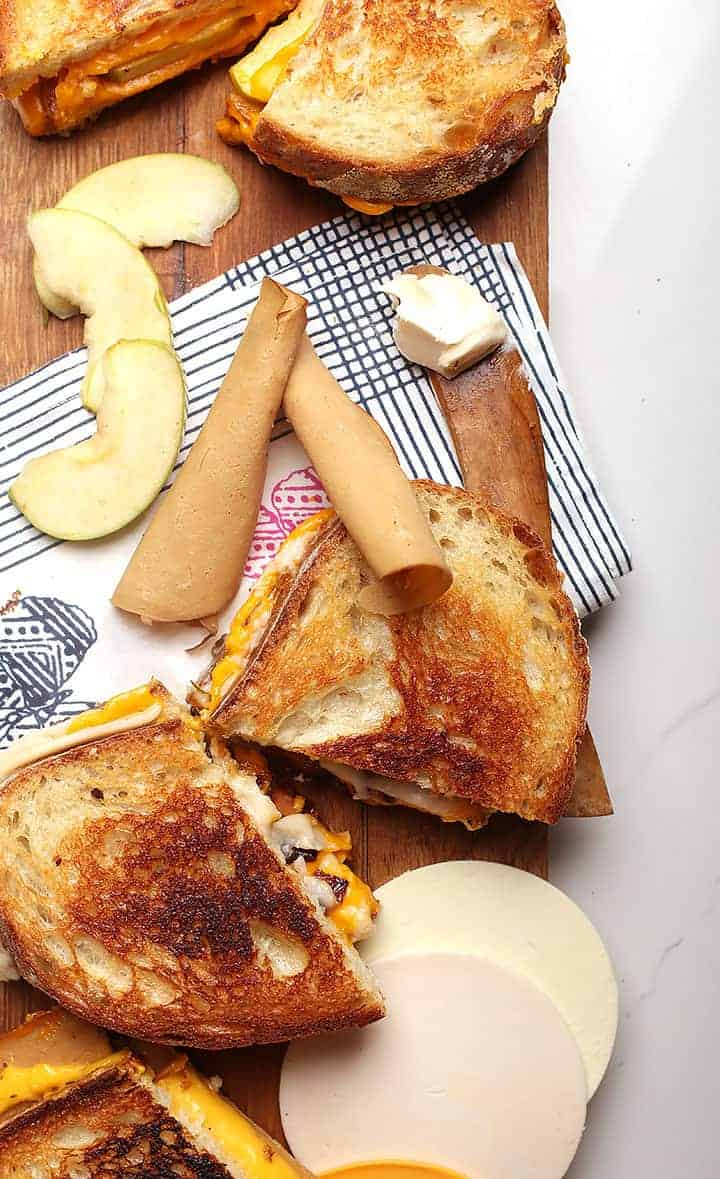 Vegan Grilled Cheese - 3 ways