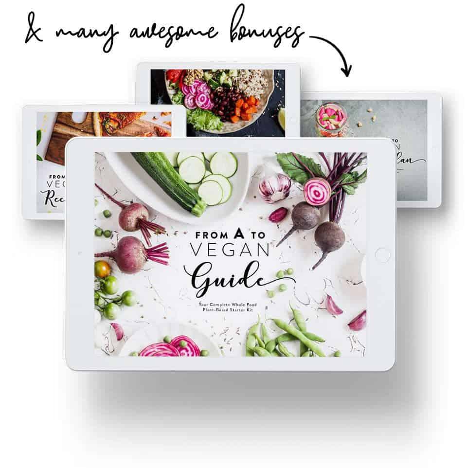 Vegan starter kit cover images