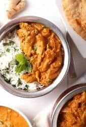 Vegan Tikka Masala with Soy Curls