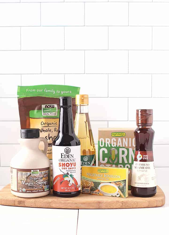 Ingredients for iHerb online grocery store